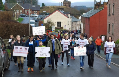 Big support for Lazonby campaign